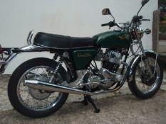 1973 Norton Commando Registration number SBJ 98M Frame number 208167 Engine number 200106 15,916
