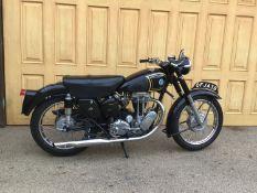 1953 AJS 16MS Registration number OFJ 438 Frame number A28792 Engine number S416W521029 In present