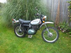 1973 Honda XL250 Registration number UYT 452M Frame number XL250 1054952 Engine number XL250E