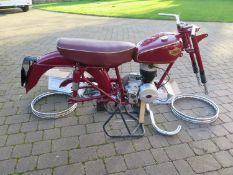 1955 Sun Challenger Registration number TTV 910 Engine number 046B37392E Frame number VMC227SA