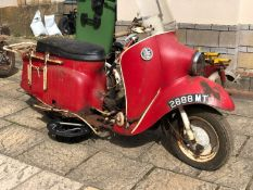 1961 Velocette Viceroy Registration number 2888 MT Shed stored for many years No documents For
