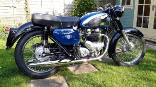 1961 AJS M31 De Luxe Registration number 792 UYU Frame number A81252 Engine number G12LX1317