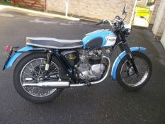 1967 Triumph T100 SS Registration number KRJ 921E Frame number T100 SS H 48563 Engine number T90