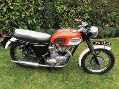 1966 Triumph T120 Bonneville Registration number JTN 352D Frame number TI20DU2801 Engine number