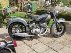 1953 Sunbeam S8 Registration number LFH 342 Frame number 7033 Engine number 11949 27,895 recorded