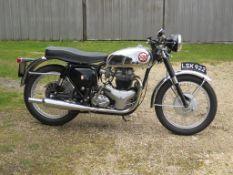 1962 BSA Rocket Gold Star Registration number LSK 922 Frame number GA10122 Engine number DA10R6965