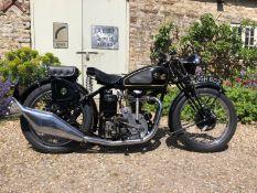 1936 Velocette KTS Registration number DGH 602 Frame number 1954 Engine number KSS 7497 1 recorded