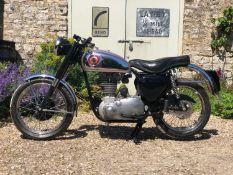 1954 BSA BB32 Not Registered Frame number CB31 1231 Engine number BB32 GS 123 1954 B31 frame