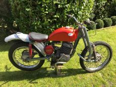 1967 Greeves Anglian Frame number 24THSA 354 Engine number 37A-161F-1126 Restoration project