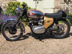 1965 BSA A65 Lightning Clubman Replica Registration KBF 177C Frame number A50-9733C Engine number