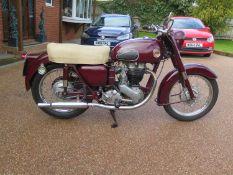 1957 Ariel VH 500 Registration number 129 ERB Frame number APR8634 Engine number AMB1287 Original