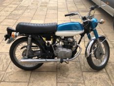 1971 Honda CB175 Unregistered Frame number CB175-5024089 Disassembled and includes 99.9% of parts to