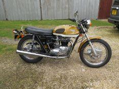 1972 Triumph T120 Bonneville Registration number VRE 48L Frame number EG 56411 Engine number EG