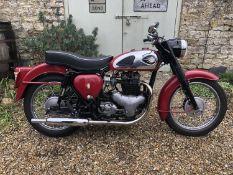 1961 BSA Shooting Star A7 Registration number 790 SRA Frame number GA7 17084 Engine number CA
