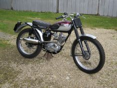 1962 Triumph Tiger Cub TR Trials Registration number 473 UYO Frame number 89074 Engine number