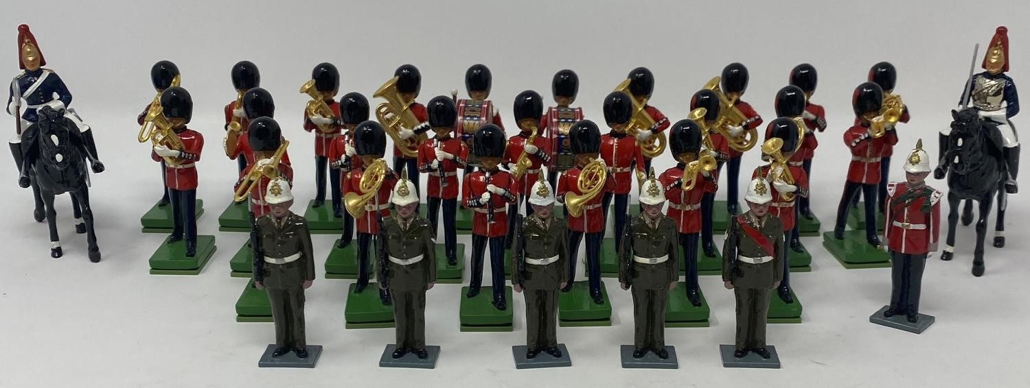 A Britains Blues & Royals set, for Hamleys, No 40213 boxed, a Tradition Governor's Guard set,