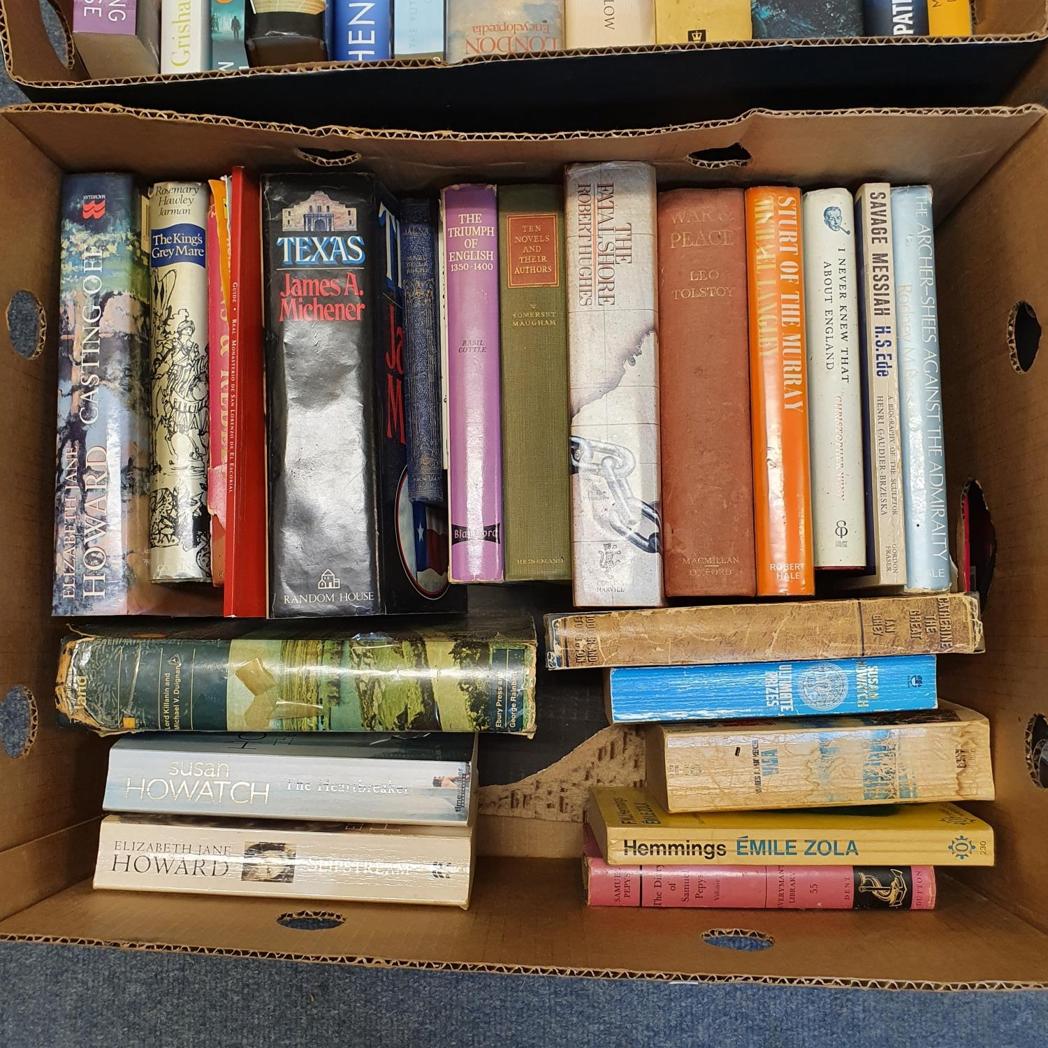 Hibbert (Christopher) London, and a large group of other books (19 boxes) - Image 3 of 21