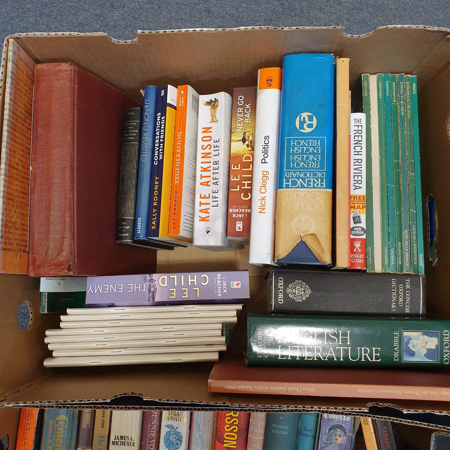 Hibbert (Christopher) London, and a large group of other books (19 boxes) - Image 9 of 21