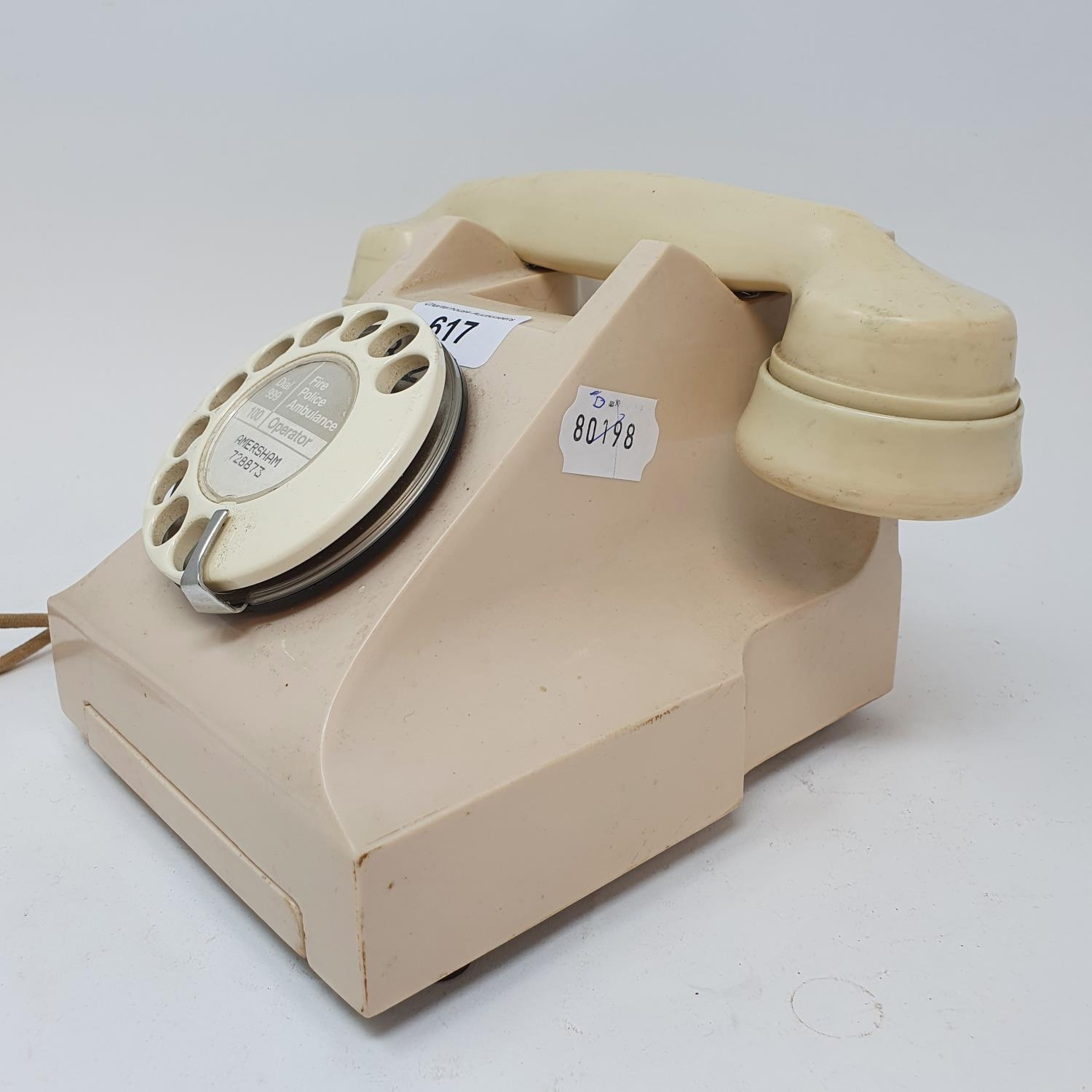 A 300 style dial ivory telephone Converted - Image 2 of 2