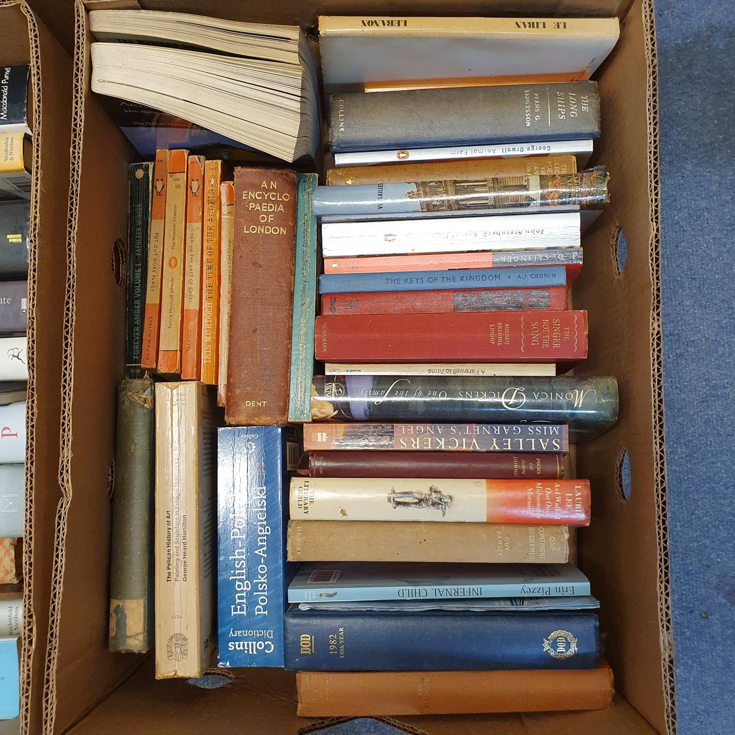 Hibbert (Christopher) London, and a large group of other books (19 boxes) - Image 14 of 21
