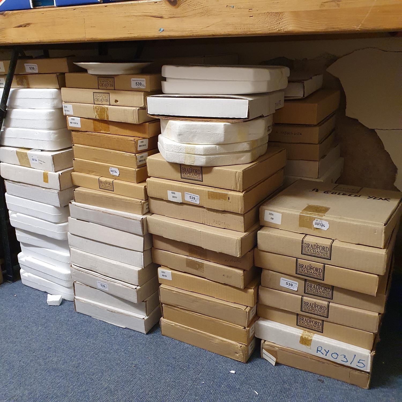 A Bradford Exchange collectors plate, a golden year, other Bradford Exchange collectors plates and