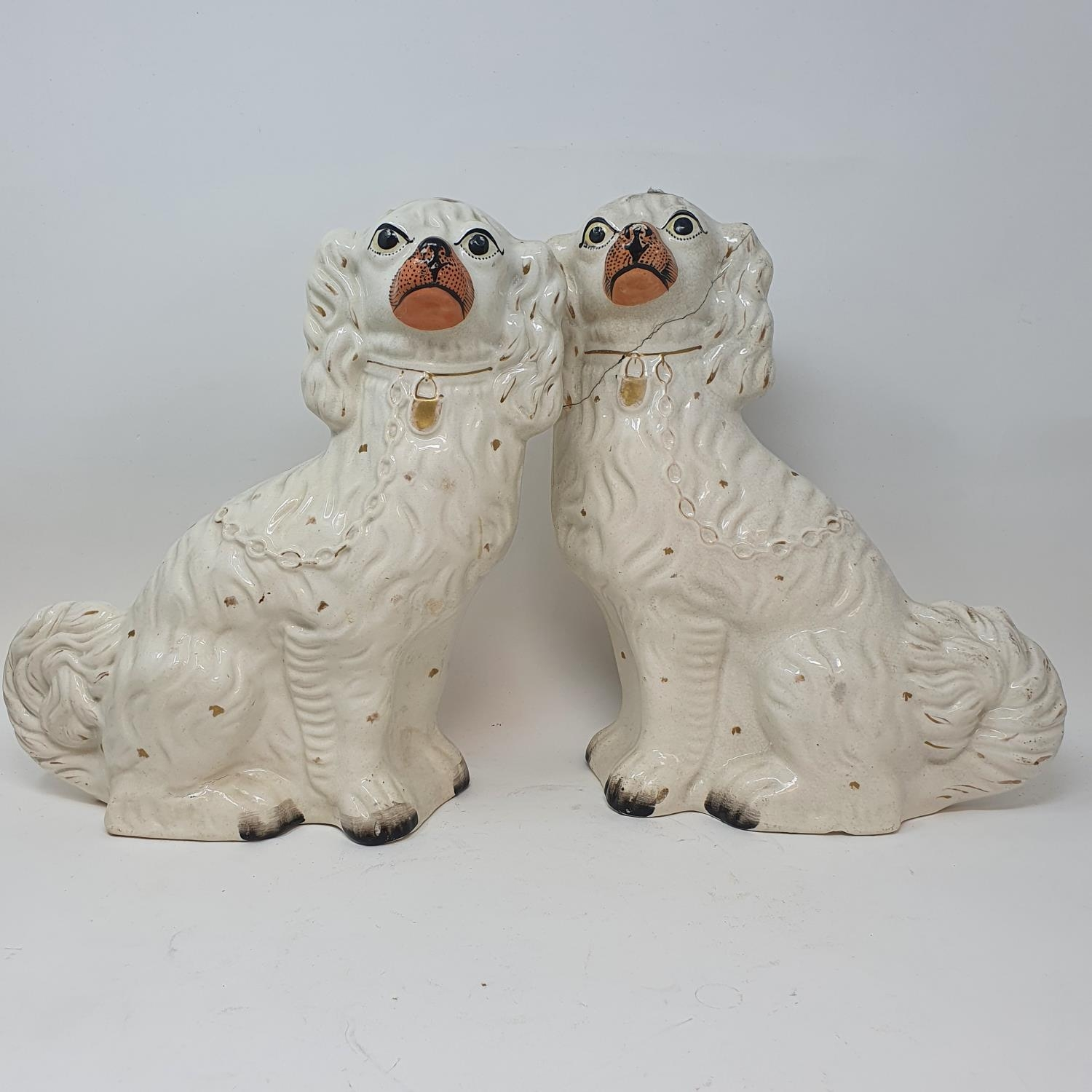 A pair of Staffordshire flat back spaniels, a Royal Doulton part dinner service, other ceramics - Image 3 of 15