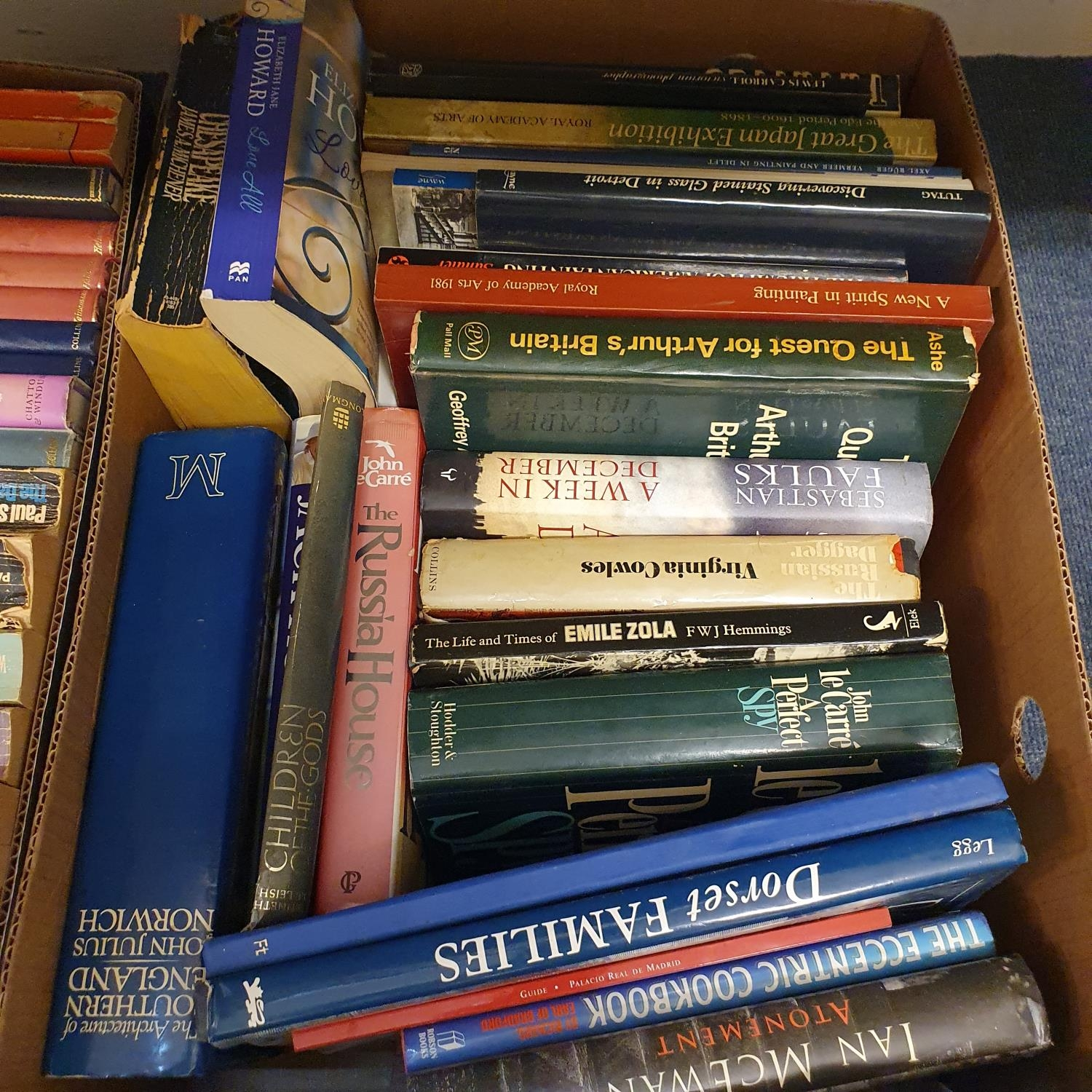 Hibbert (Christopher) London, and a large group of other books (19 boxes) - Image 20 of 21
