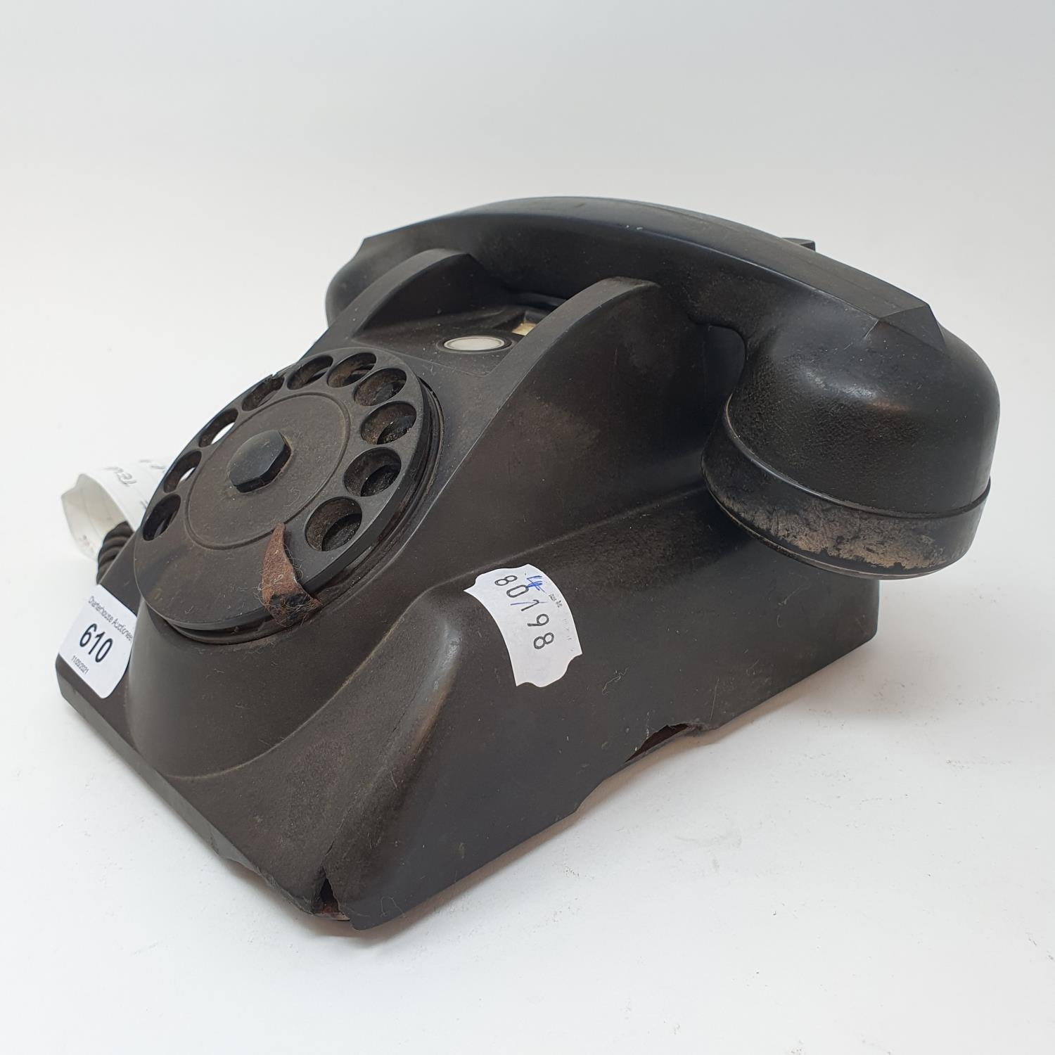 A Bakelite dial telephone, A515 Prop phone - Image 2 of 2
