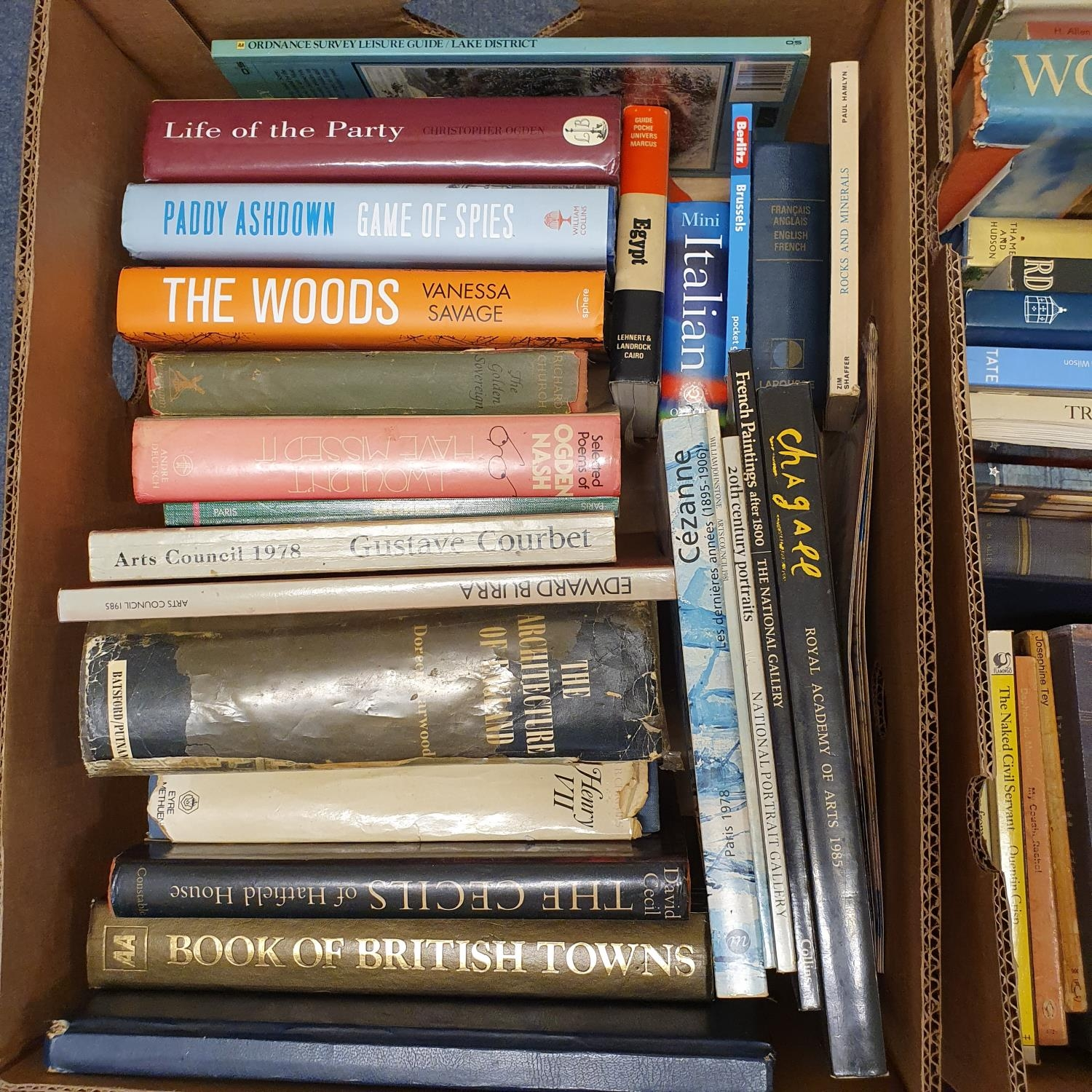 Hibbert (Christopher) London, and a large group of other books (19 boxes) - Image 16 of 21