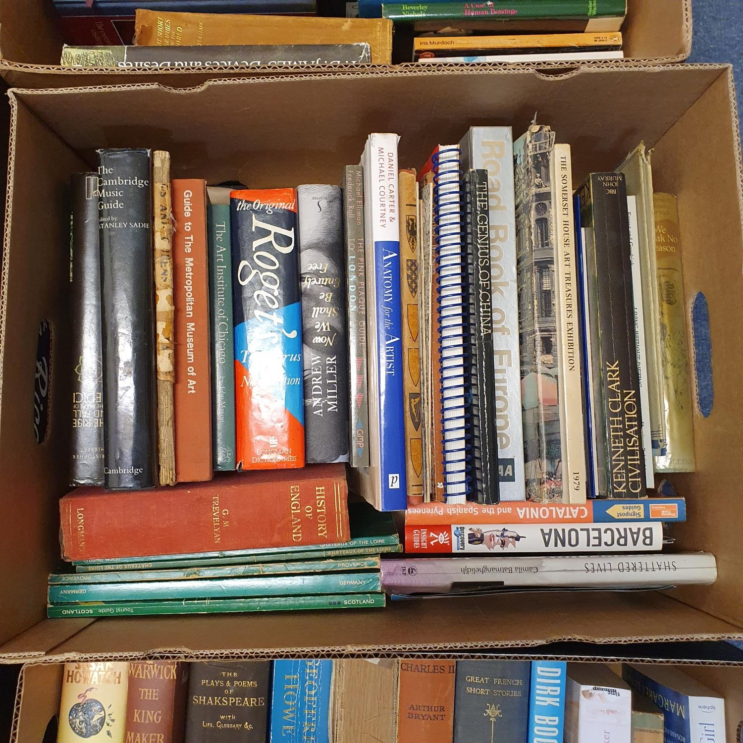 Hibbert (Christopher) London, and a large group of other books (19 boxes) - Image 5 of 21