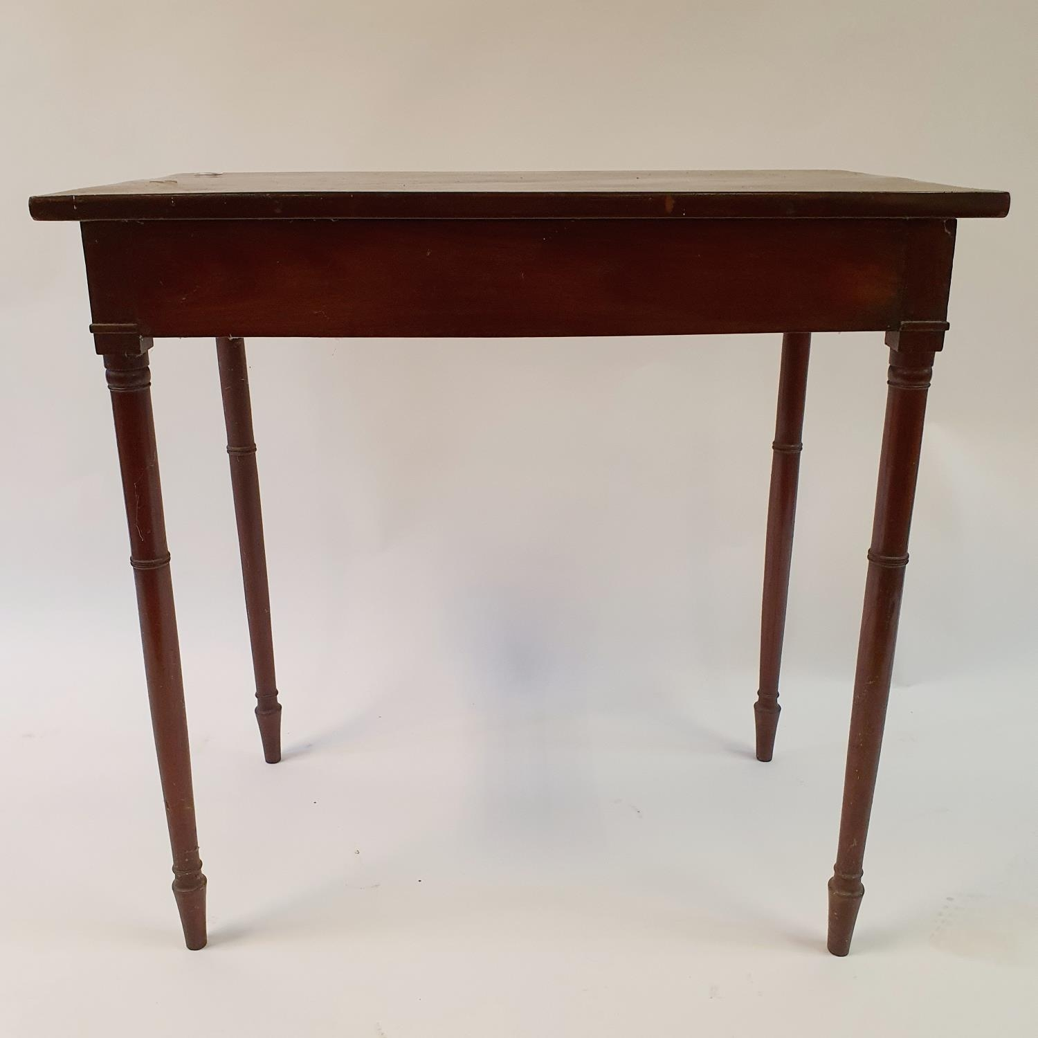 A mahogany side table, 76 cm wide - Image 2 of 3