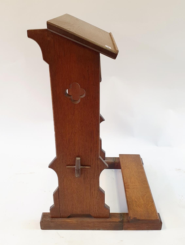 An oak lectern, 50 cm wide - Image 2 of 4