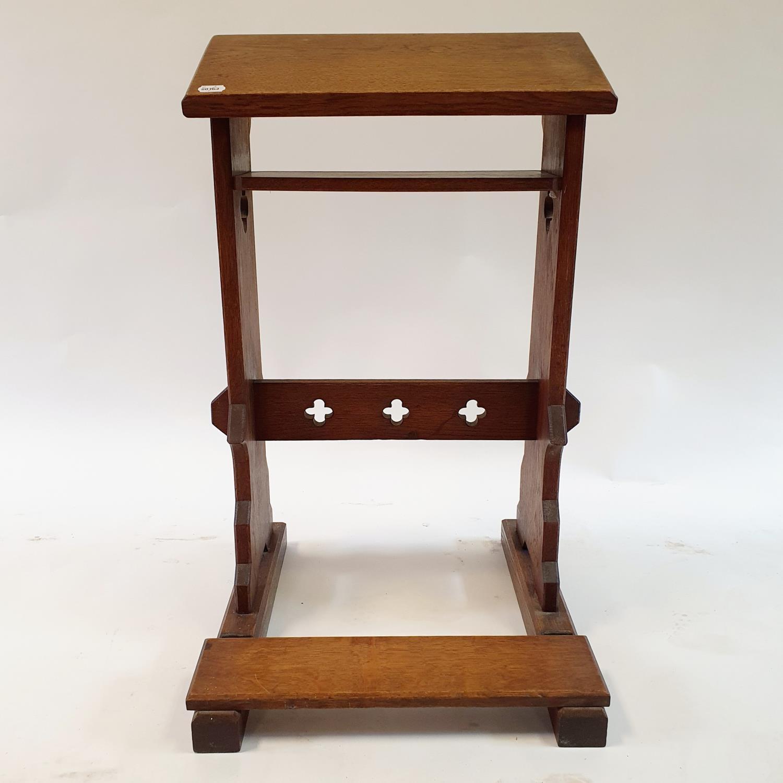 An oak lectern, 50 cm wide