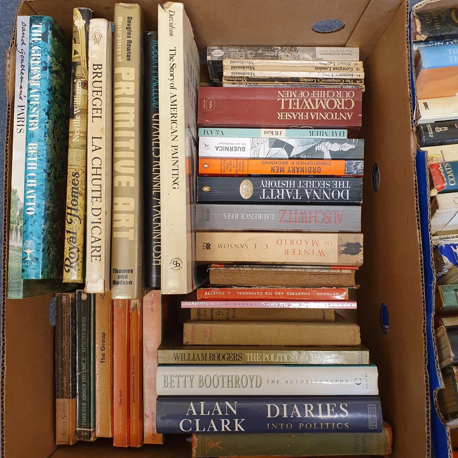Hibbert (Christopher) London, and a large group of other books (19 boxes) - Image 18 of 21