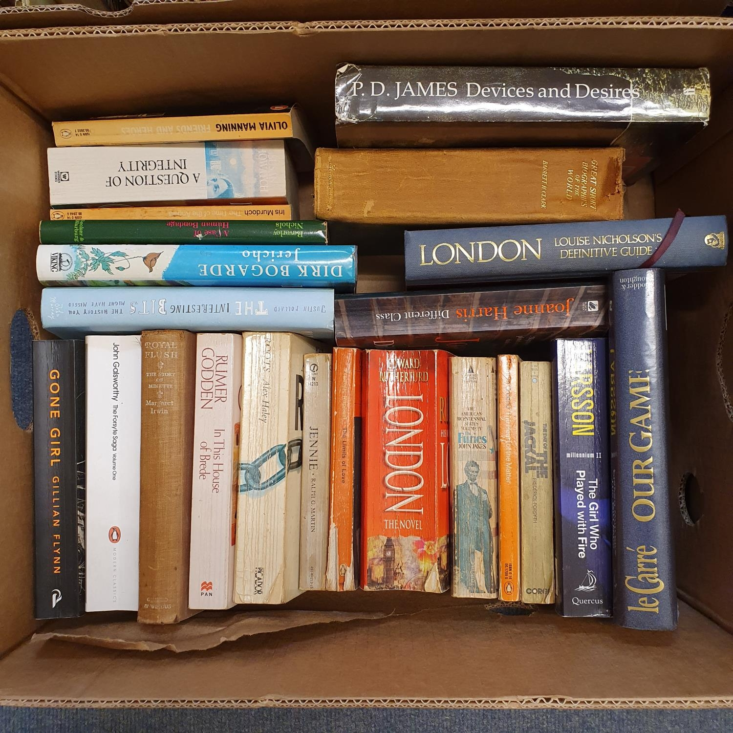 Hibbert (Christopher) London, and a large group of other books (19 boxes) - Image 8 of 21