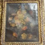 Continental school, early 20th century, still life of flowers, oil on canvas, 48 x 39 cm Various