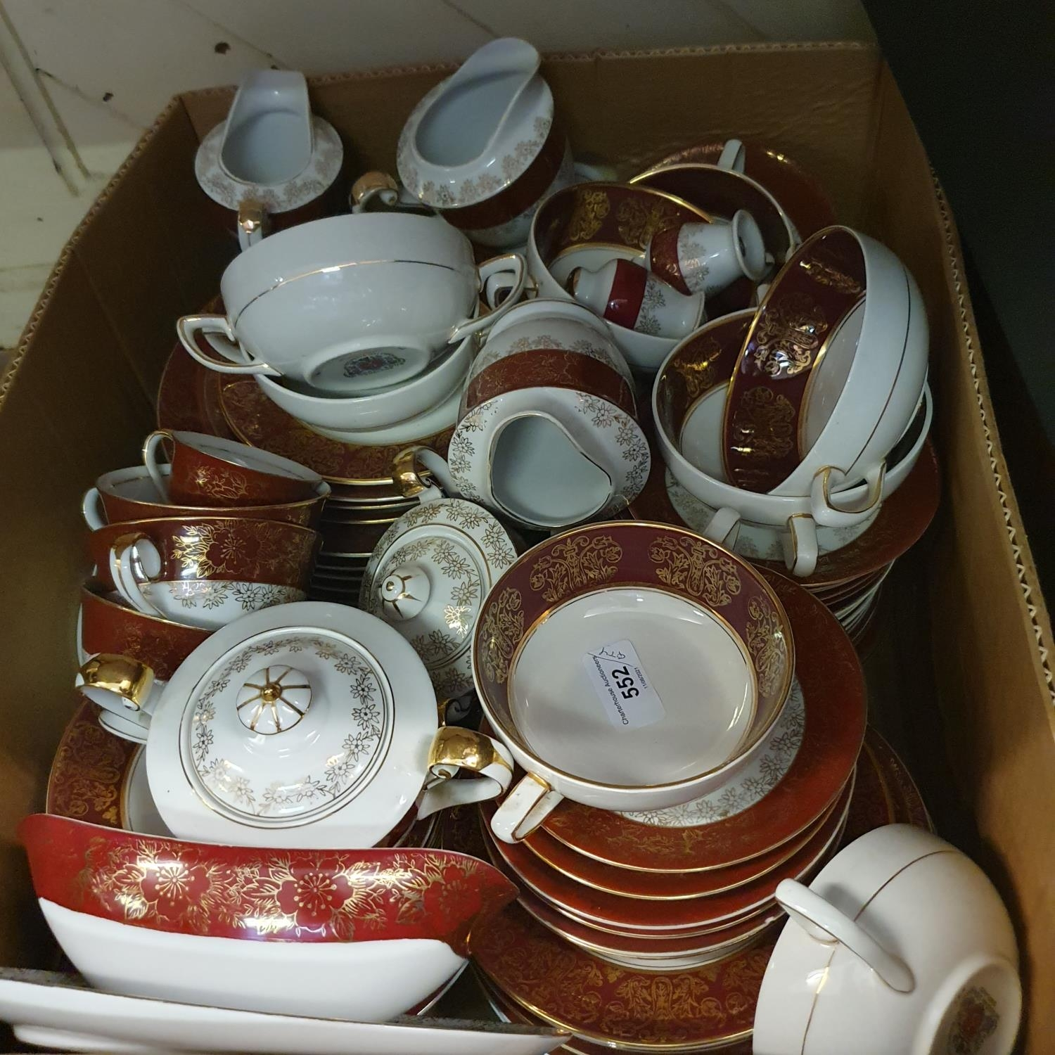 A pair of Staffordshire flat back spaniels, a Royal Doulton part dinner service, other ceramics - Image 12 of 15