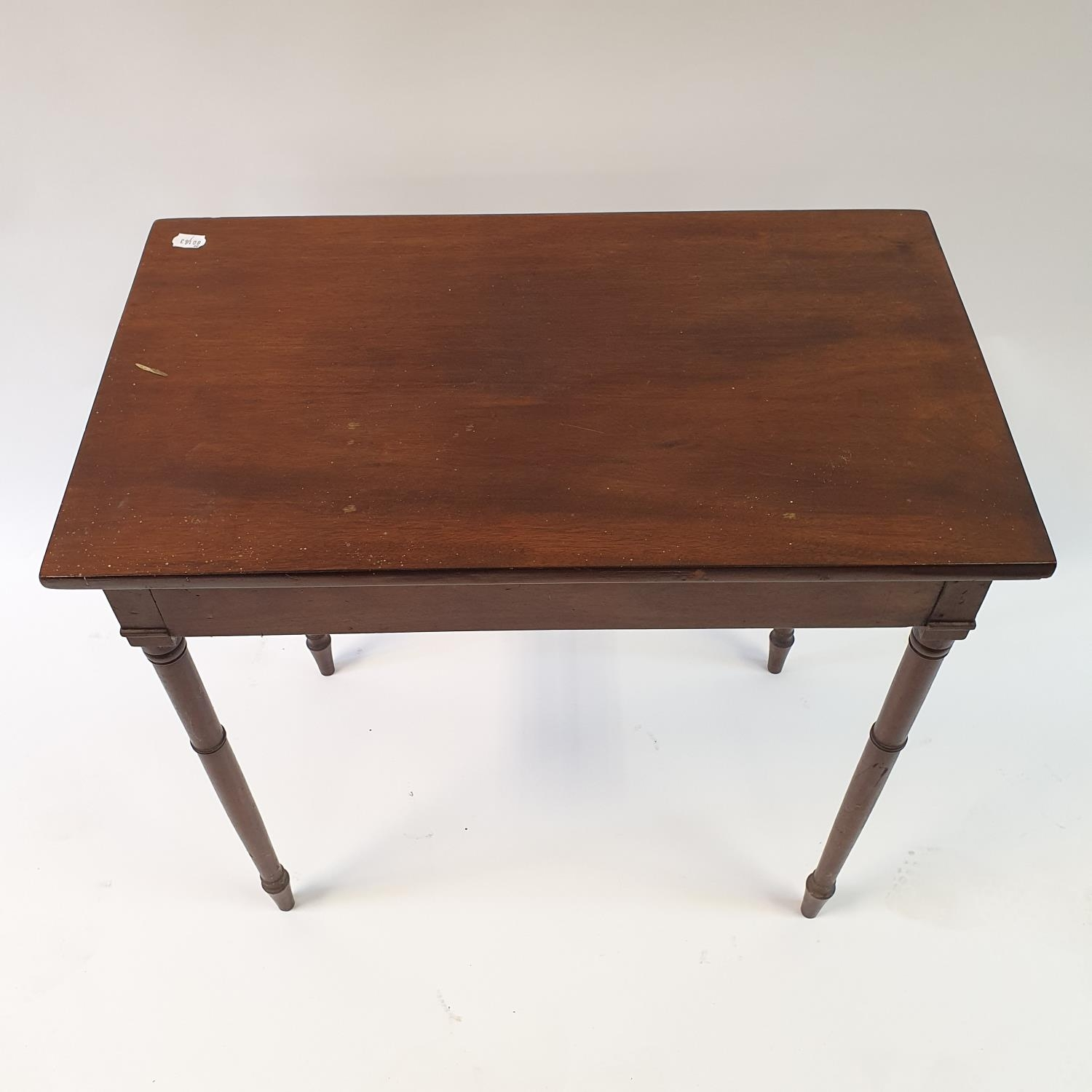 A mahogany side table, 76 cm wide - Image 3 of 3