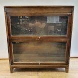 A Gunn sectional bookcase, 88 cm wide