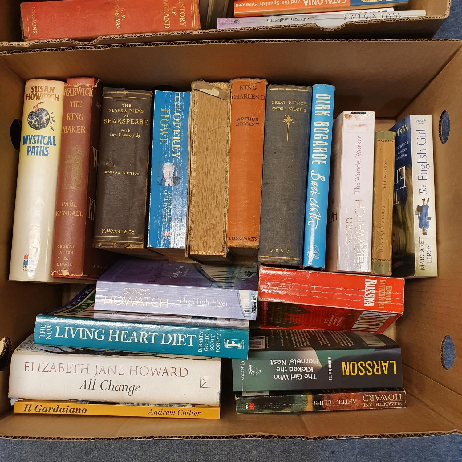 Hibbert (Christopher) London, and a large group of other books (19 boxes) - Image 2 of 21