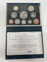 A group of year proof coin sets, 1970 and 1988-1999
