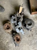 Assorted Velocette spares: Cylinder heads and camboxes