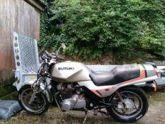 1982 Suzuki GS 650 Registration number HHT 687X Frame number GS 650 G -103184 Engine number GS