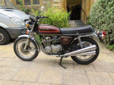 1977 Honda CB550 Registration number TJN 230R Frame number CB550K2013026 Engine number CB550