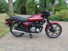 1986 Kawasaki GT 750 ( Z750-P4 ) Registration number D967 GAH Frame number KZ750P-007677 Engine