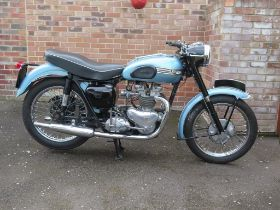 1955 Triumph T100 Registration number ABM 809A Frame number 58178 Engine number 5T/58178 Totally