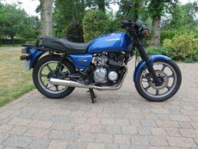1986 Kawasaki GT 550 (Z550 G3) Registration number D871 TVO Frame number KZ550G-003912 Engine number