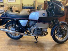 1979 BMW R100 RS Registration number DUC 219V Frame number 6096944 Engine number 6096944 92,432