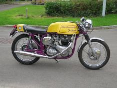 1963 Ian Kennedy Triton Registrationnumber 629 COW Frame number1493676 Engine number 6T.D.16520