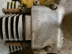 Assorted Velocette spares: MAC engine
